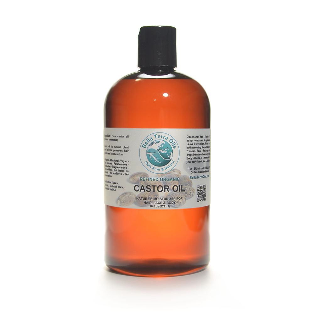 Castor Oil And Water Natural Hair
