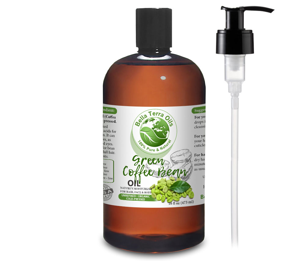 Green Coffee Bean Oil Green Coffee Bean Oil Benefit For Hair And